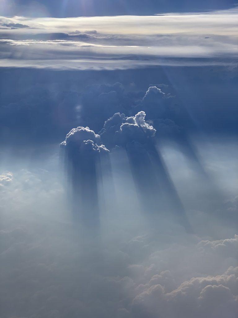 Finnair suora lento pilvet