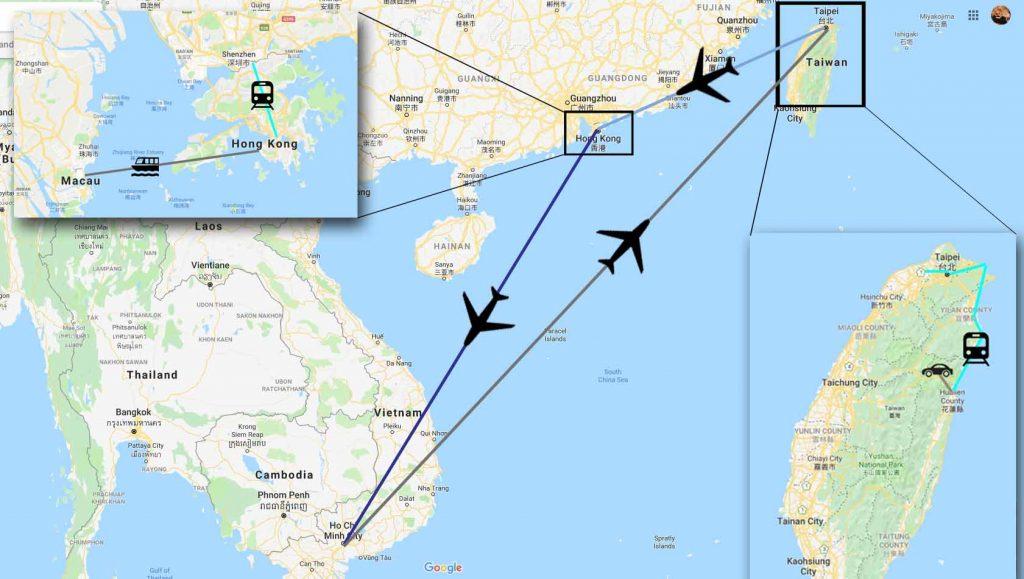 Viisi maata ja 12 päivää Aasiassa 1