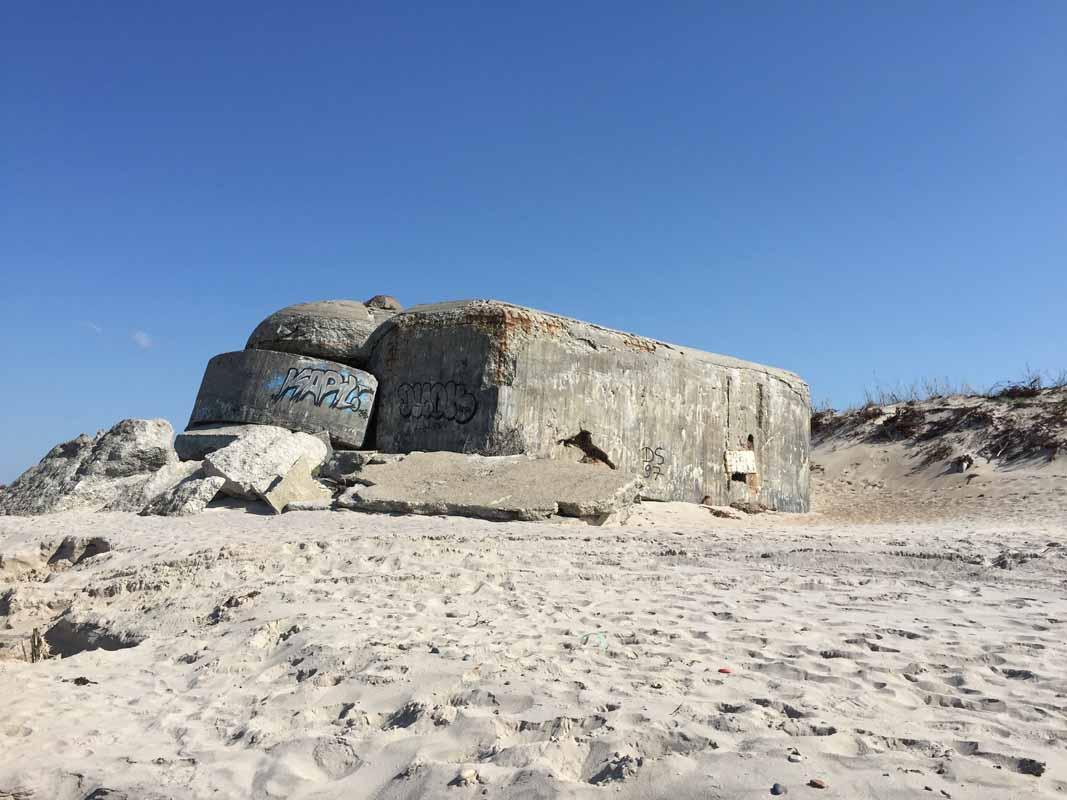 Tanska Houvig bunker Denmark